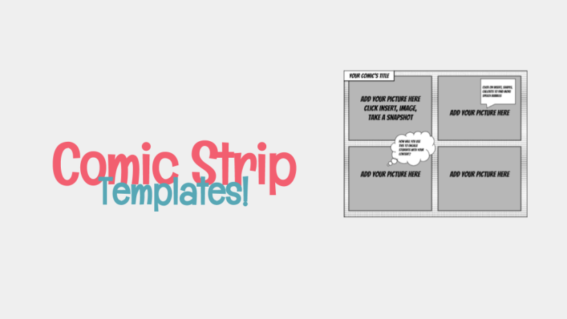 Comic Strip Templates for Google Drawings! – Meredith Akers