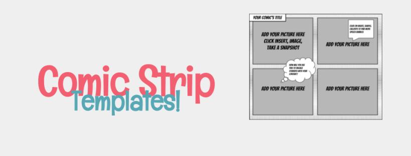 Comic Strip Templates For Google Drawings Meredith Akers