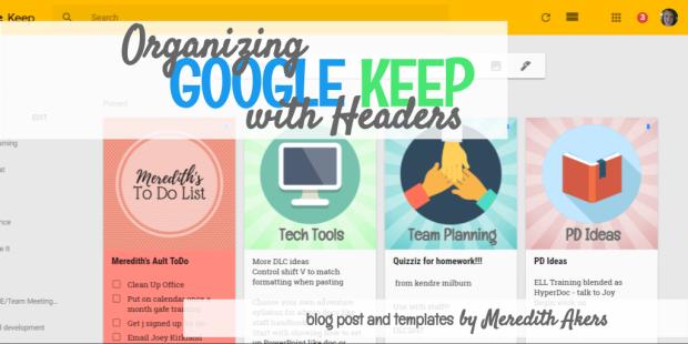 -Organizing Keep Blog Image - screenshot 2