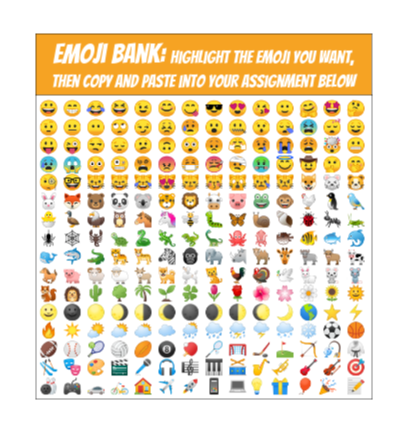 Drop an Emoji On It! Template - Google Docs.clipular