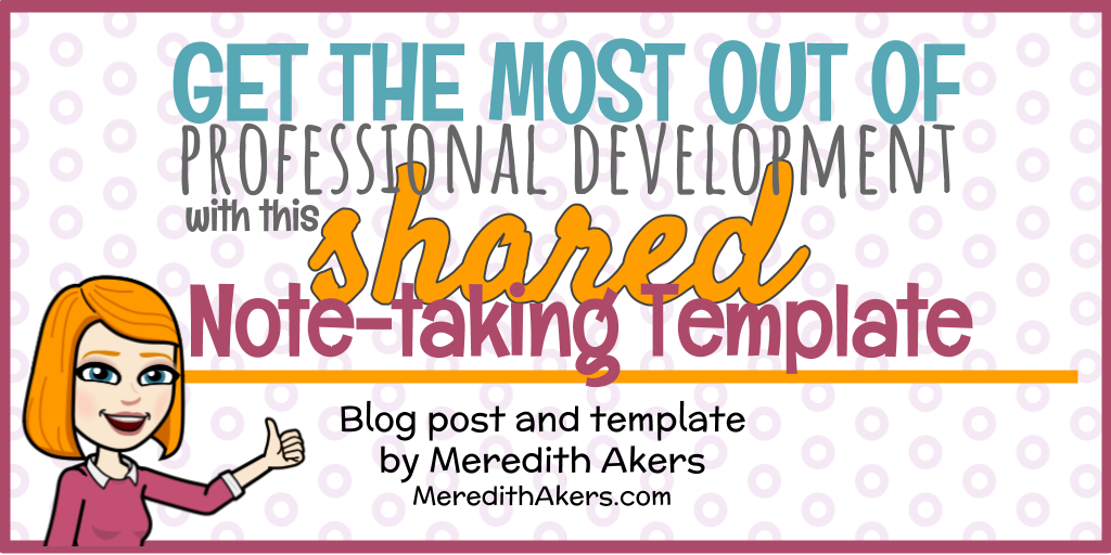 Shared Note-Taking Template HEADER