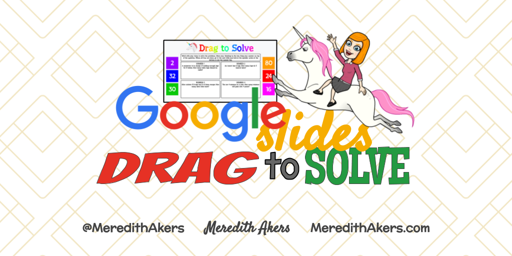 Drag to Solve